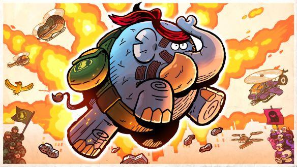 ¿Quién quiere un erizo si puede tener la fusión entre un Elefante y Rambo?