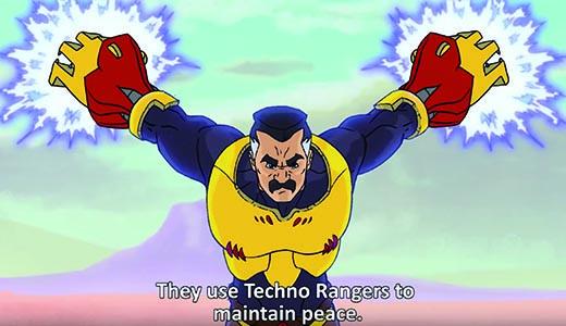 Tecno Rangers... pues eso...