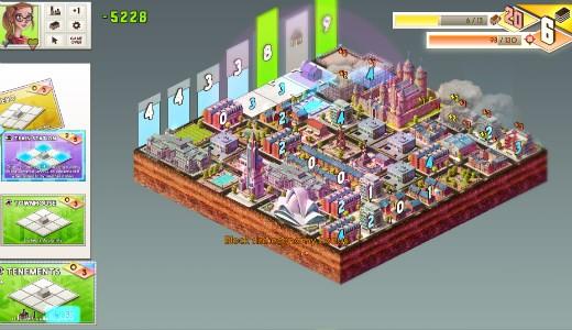 Los edificios con números recolectan puntos. El resto, o ayudan o estorban.