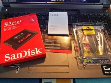 Sandisk SSD Plus 120GB 002