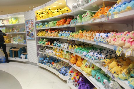 Merchandising Pokémon