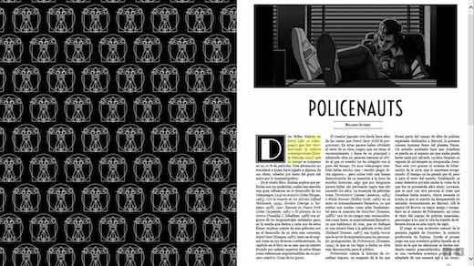 policenauts y deus ex machina