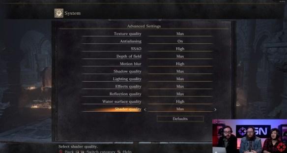 Dark Souls 3 opciones gráficas