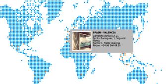 El mapa de sedes de Gameloft todavía muestra Gameloft Valencia