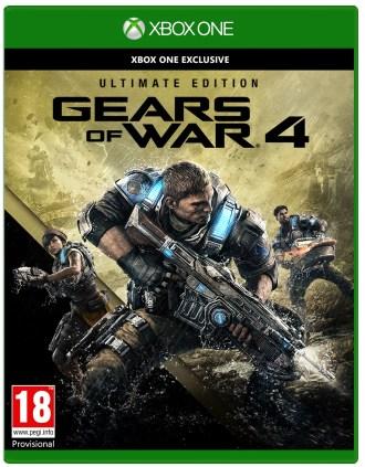 Gears 4 Ultimate portada