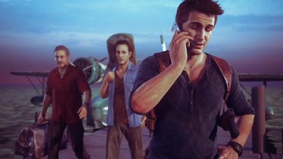 Aquí Nathan fichando - literalmente. No se escapan ni los héroes de los videojuegos...