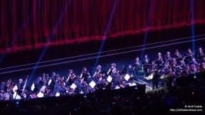 Foso conferencia de Sony con orquesta