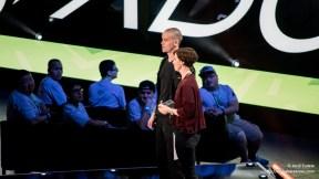 Minecraft en la conferencia de Microsoft