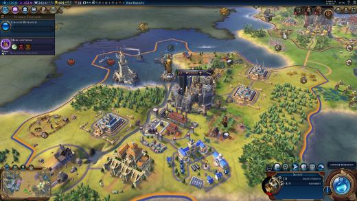 Civilization VI Districts & Wonders