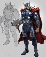 Avengers-Game-Thor-Rough-Concept-Art
