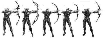 Avengers-game-Hawkeye-Concept-Drafts