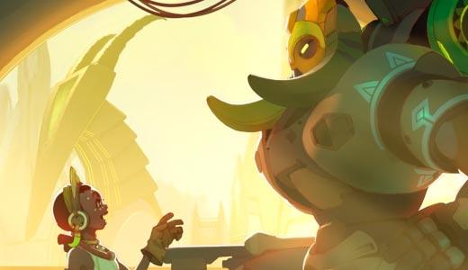 Overwatch presenta al nuevo heroe Orisa