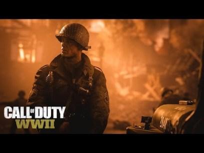 Call Of Duty WWII hace gala de presencia y confirma los primeros detalles