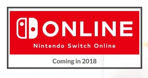 nintendo switch online 2018