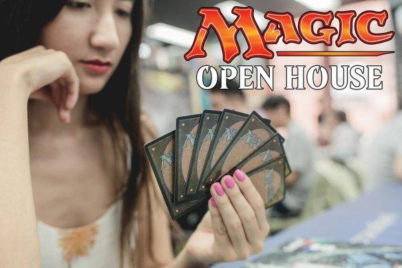 Magic the gathering con Magic Open House e Ixalan