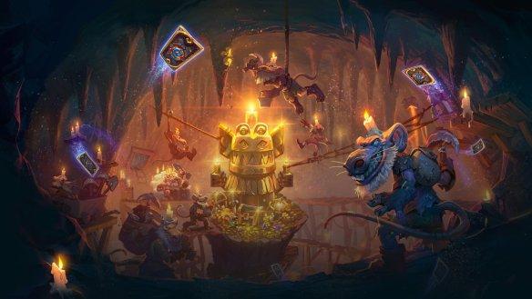 Kóbolds & Catacumbas se llama la nueva expansión de HearthStone Heroes Of Warcraft anunciada en la Blizzcon 2017