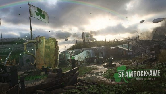 Call Of Duty WWII  celebra el Dia De San Patricio con Operation Shamrock and Awe