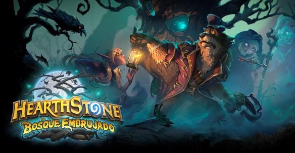 El bosque embrujado es la primera expansión del año del cuervo en HearthStone
