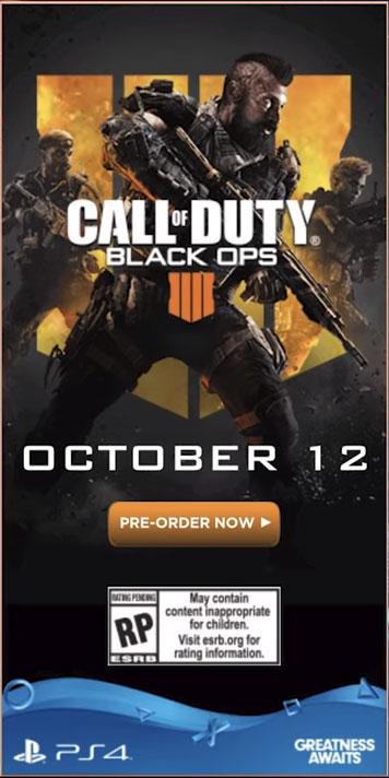 Call Of Duty Black Ops 4 se presenta el 17 De Mayo