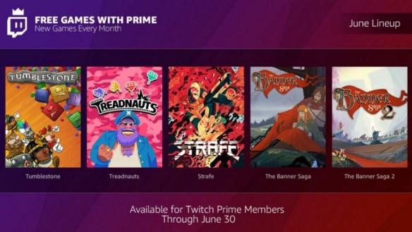 Twitch Prime de Junio es todo un lujo para tu bolsillo