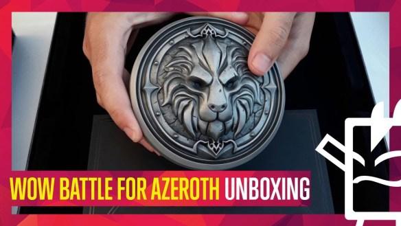 Battle for Azeroth se luce en una edición coleccionista sublime