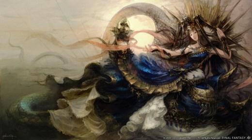 final fantasy xiv stormblood diseño de personajes