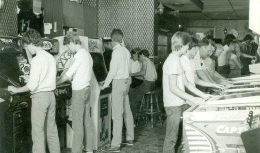 Arcade americano en los 80