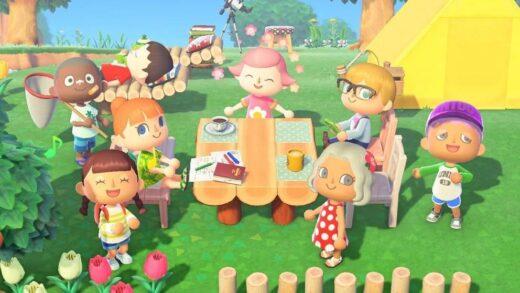 Fiesta en Animal Crossing