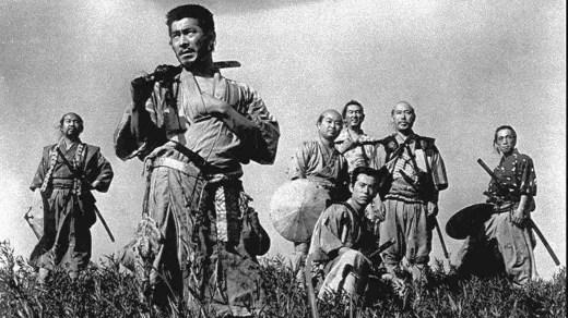 Los siete samurais de Akira Kurosawa