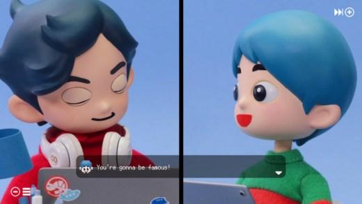 Takeshi y Hiroshi conversación