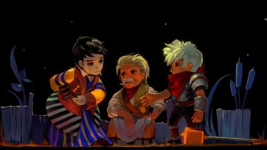Rucks, Zulf y Kid en su primer encuentro