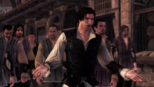 Captura de Assassin's Creed II en PS4 slim