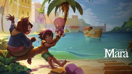 Portada del videojuego Summer in Mara del estudio Chibig