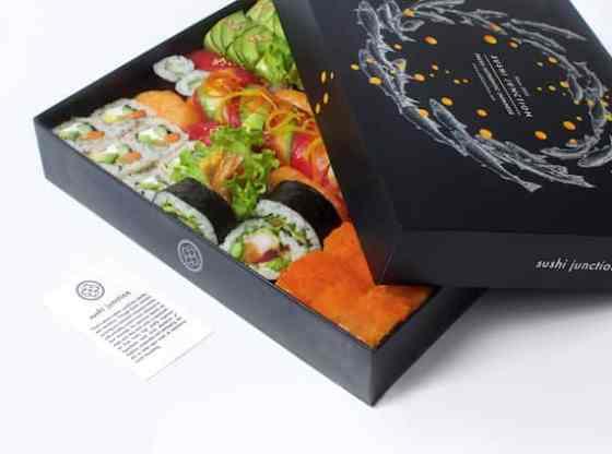 Brand Identity for Sushi Junction, akihikogoto.com