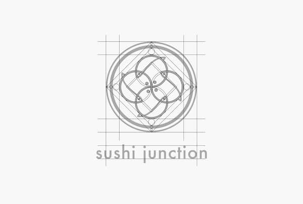 Brand Identity for Sushi Junction, akihikogoto.com