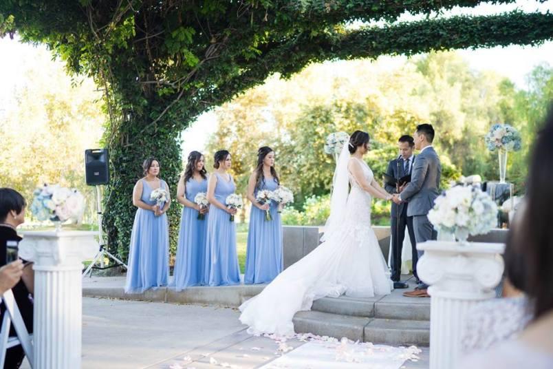 Wedding Ceremony Coyote Hills Golf Course