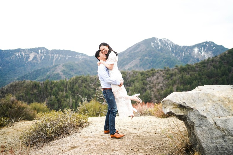 Angeles Crest Engagement Gill Lewis 3
