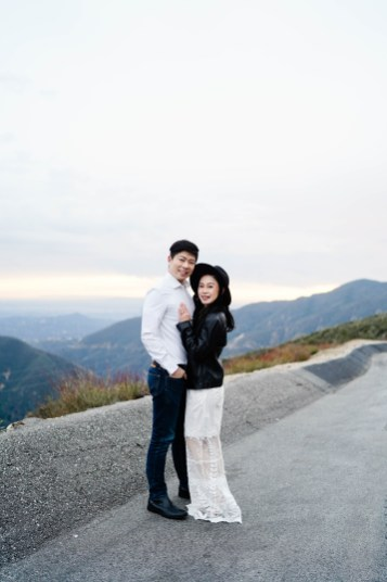 Angeles Crest Engagement Gill Lewis 33