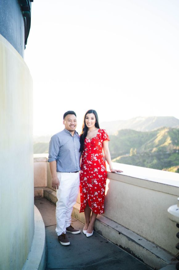 Griffith Observatory Engagement 14