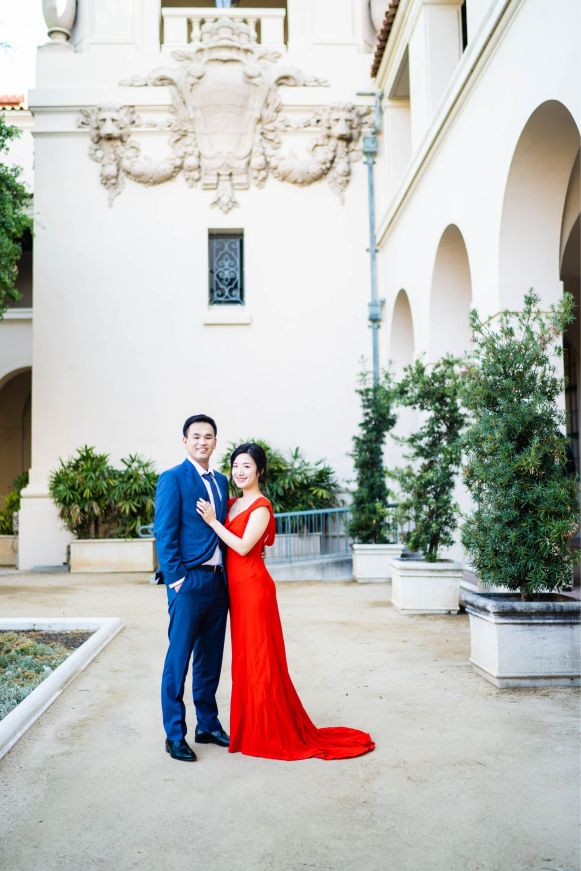 Pasadena City Hall Engagement 1