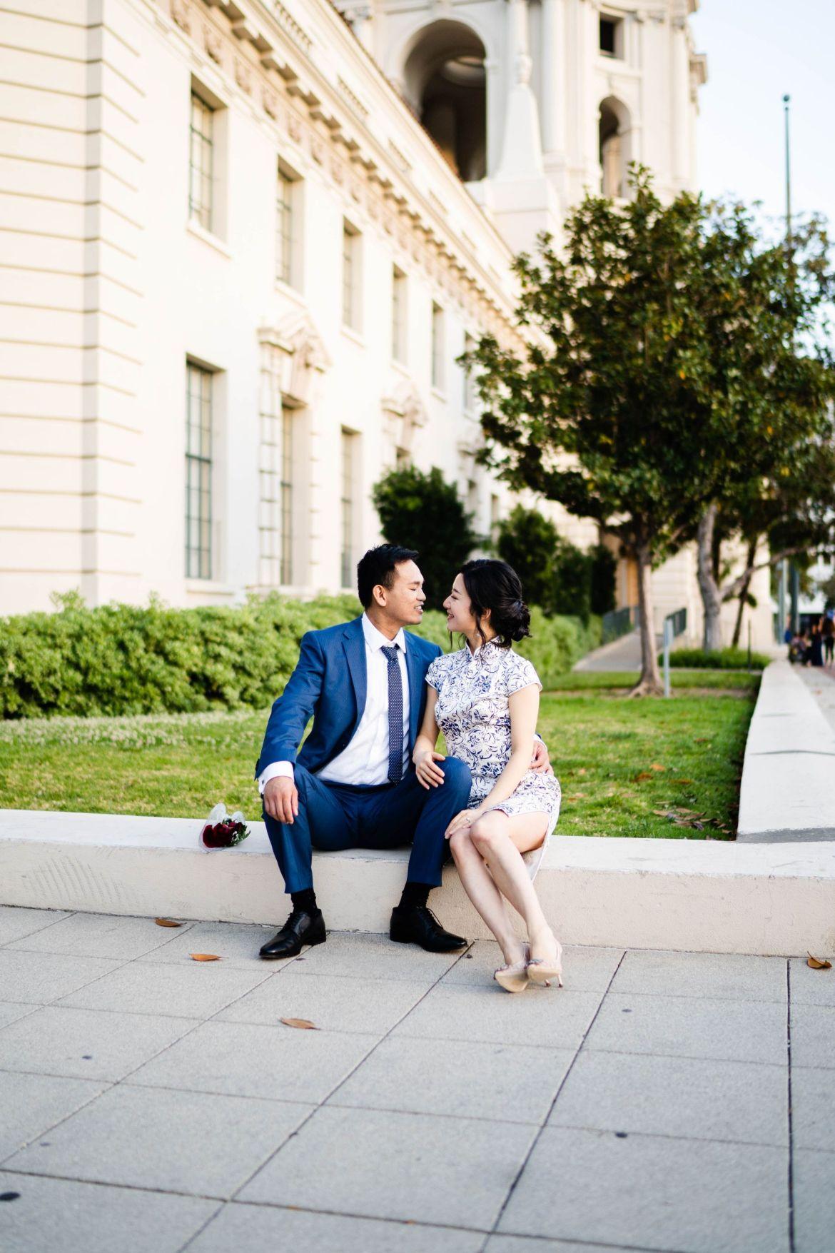 Pasadena City Hall Engagement 35