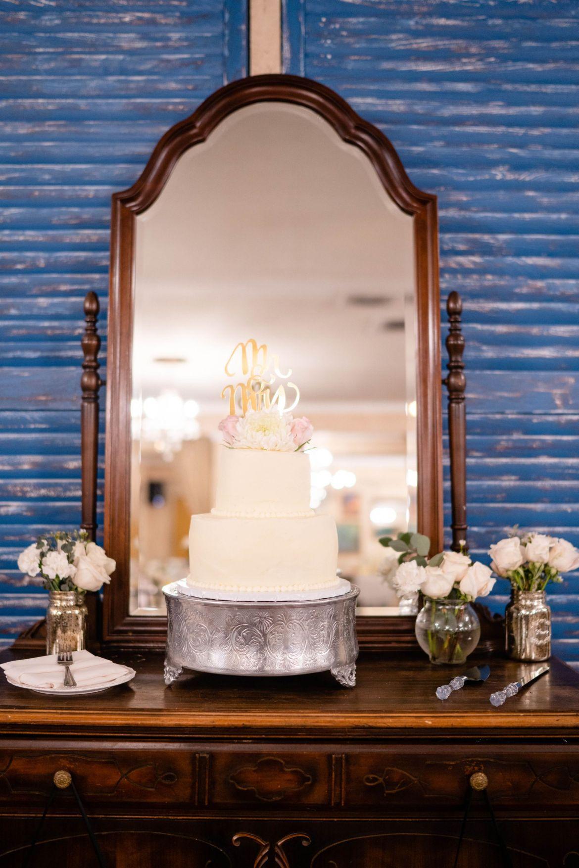 10 wedding cake vintage rose