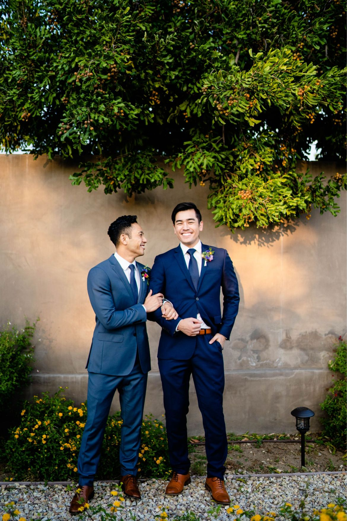 la gay wedding