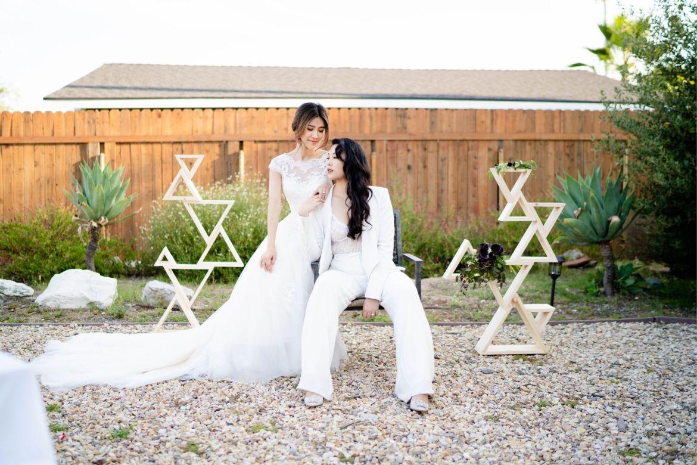 lesbian wedding ideas