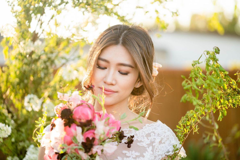 peonies bridal flowers