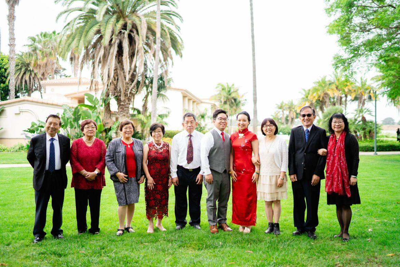 family tea ceremony photo