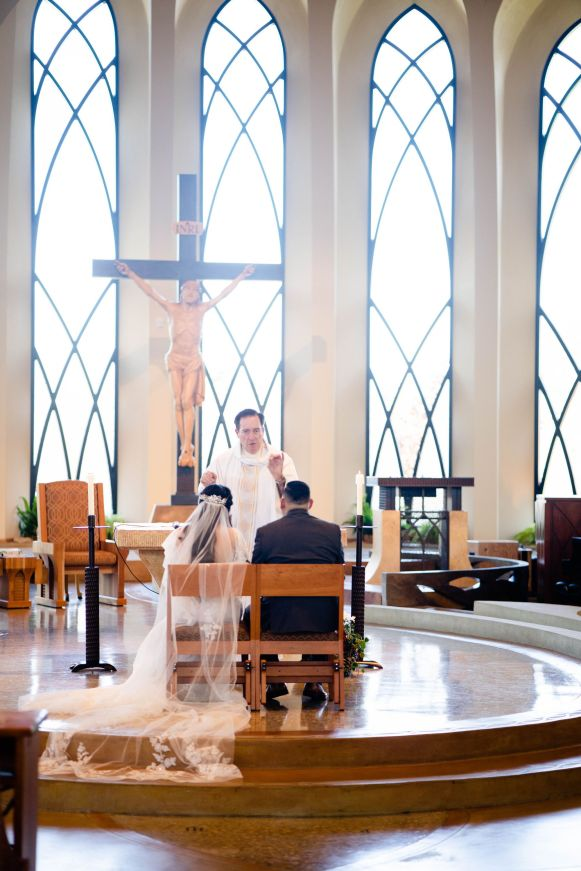 st john catholic wedding