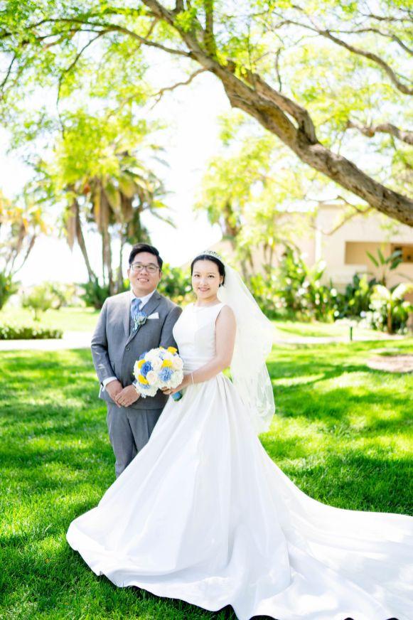 wedding at san diego hilton