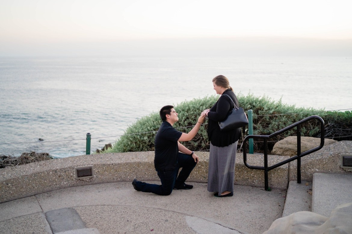 los angeles surprise proposal photographer