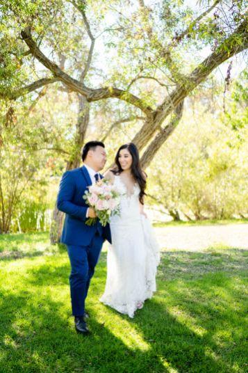 bridal party huntington beach wedding